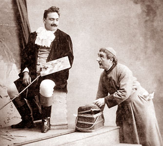 Caruso as Cavaradossi in Tosca